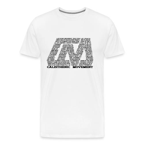 CM Logo aus Text schwarz - Männer Premium T-Shirt