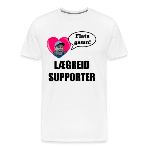 alvin final - Premium T-skjorte for menn