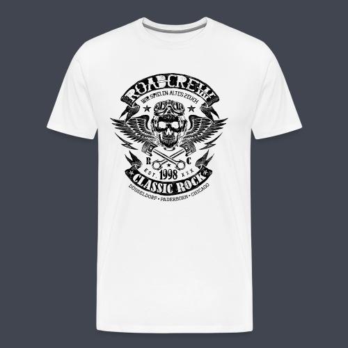 Roadcrew Classic Black - Männer Premium T-Shirt