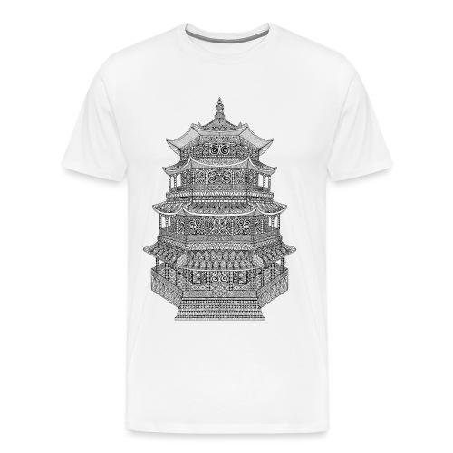 Pagode batiment japonais - T-shirt Premium Homme