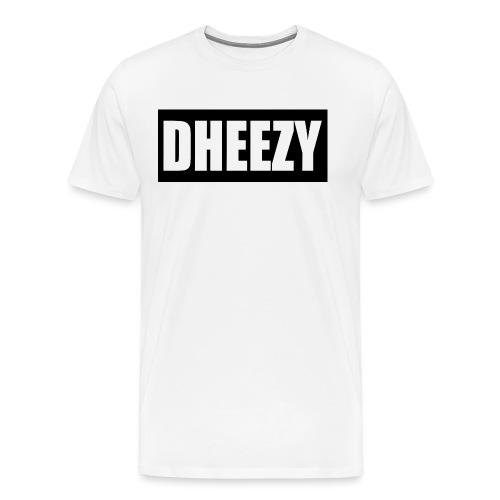DHEEZY_logo_1 - Men's Premium T-Shirt