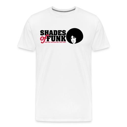 shades of funk logo - Männer Premium T-Shirt