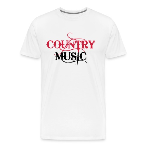 Country Music - T-shirt Premium Homme