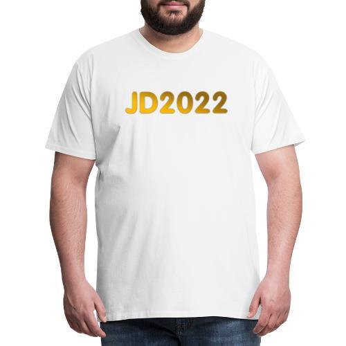 JD2022 - Premium-T-shirt herr