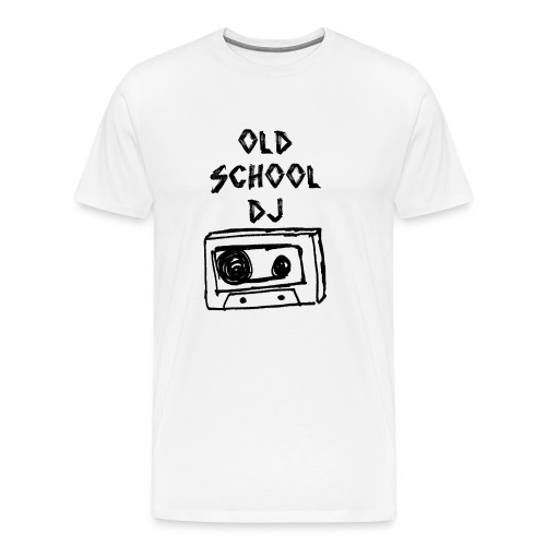 old school dj - Männer Premium T-Shirt