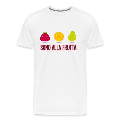 Sono alla Frutta - Maglietta Premium da uomo