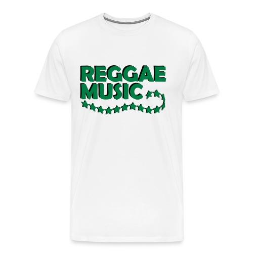 reggae music ruban étoile - T-shirt Premium Homme