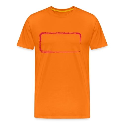 Rahmen_01 - Männer Premium T-Shirt