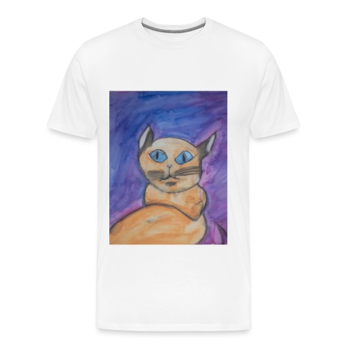 Chat Orange - T-shirt Premium Homme