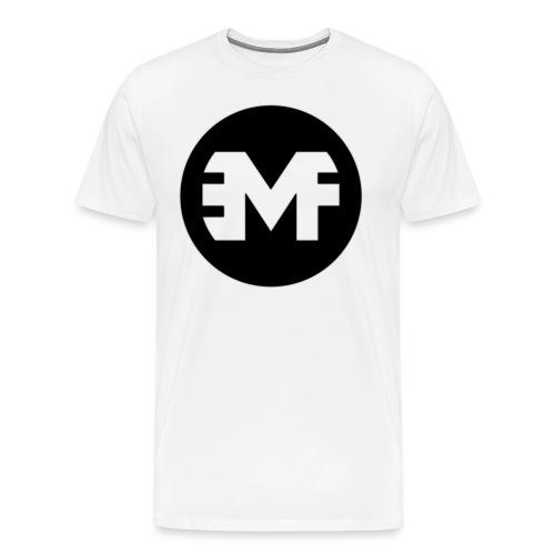 EMF Logo 02 Shirt Size png - Männer Premium T-Shirt