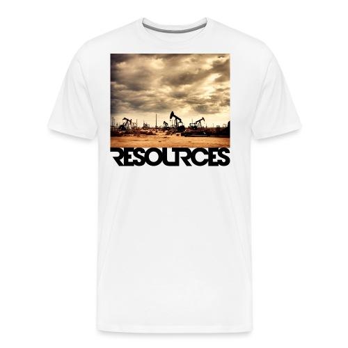 RESOURCES LOGO Schriftzug - Männer Premium T-Shirt