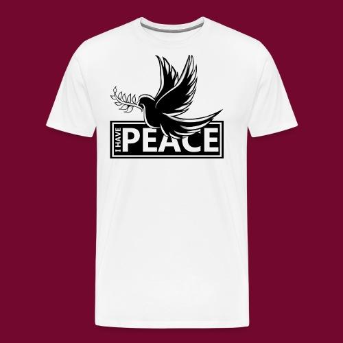 I Have Peace Black - Men's Premium T-Shirt