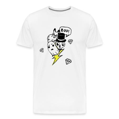 Boo! - Koszulka męska Premium