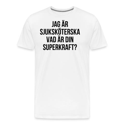Sjuksköterska med superkrafter - Premium-T-shirt herr