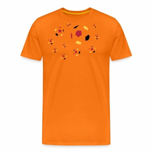 Fußball dreifarbig - Männer Premium T-Shirt