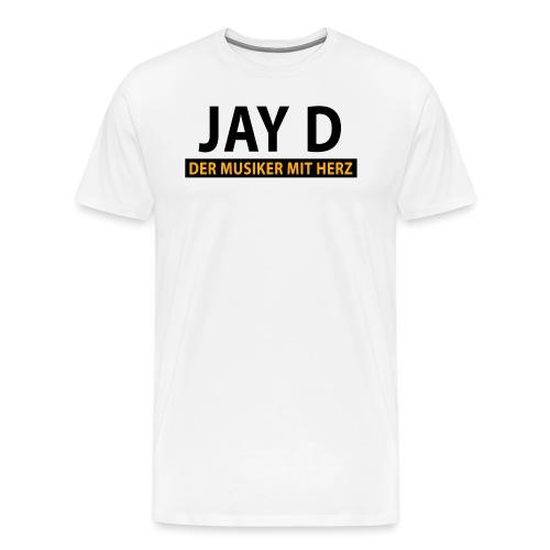 Jay D Der Musiker mit Herz - Männer Premium T-Shirt