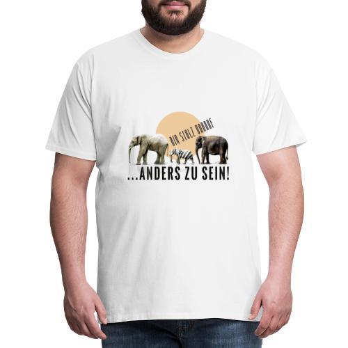 Stolz anders zu sein - Männer Premium T-Shirt