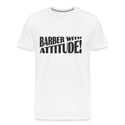 Barber T-Shirt logo 6 - Men's Premium T-Shirt