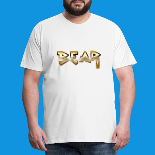 Metal Bear Retro Bag - Men's Premium T-Shirt