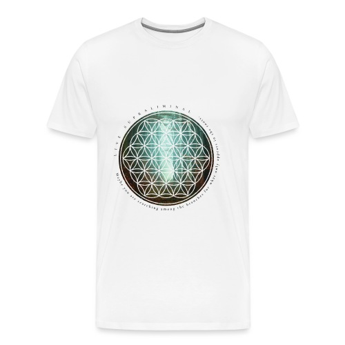 The flower of life - Premium-T-shirt herr
