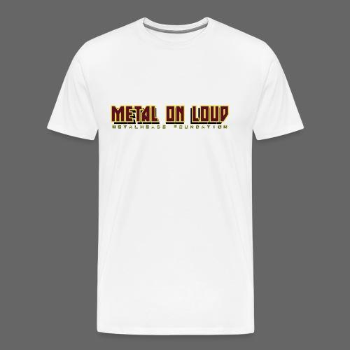 MOL Letter Logo Randy - Men's Premium T-Shirt