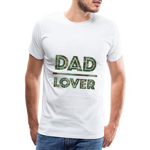DAD LOVER - Premium-T-shirt herr