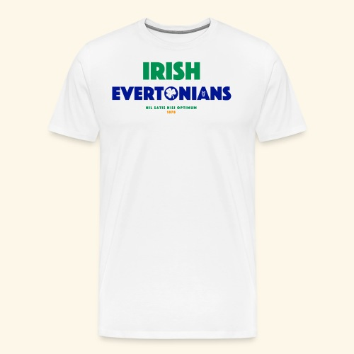 Irish Evertonians - Men's Premium T-Shirt