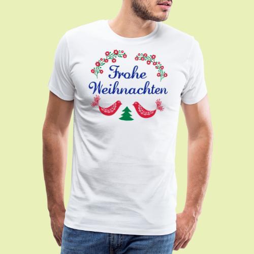 frohe Weihnachten 02-3c - Männer Premium T-Shirt