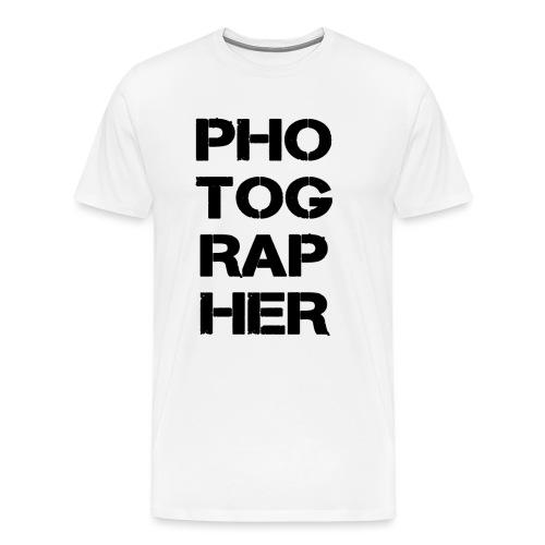 PHOTOGRAPHER - T-shirt Premium Homme