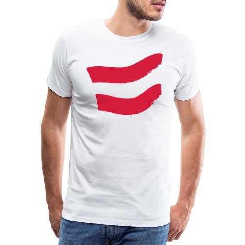 Strawanzer Blasmusik Flag - Männer Premium T-Shirt