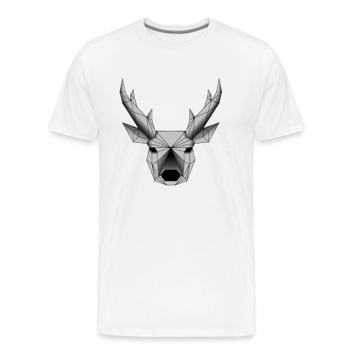 cerf - T-shirt Premium Homme
