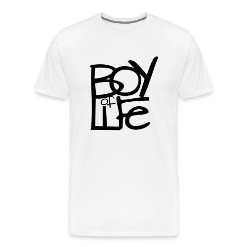 Boy of Life Logo black - Männer Premium T-Shirt