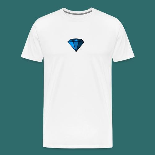 Blue Diamond - Maglietta Premium da uomo