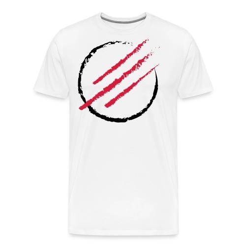 Scratch the Circle - Männer Premium T-Shirt