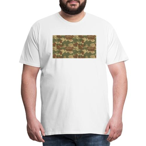 Rhodesian Brushstroke Camo - Men's Premium T-Shirt