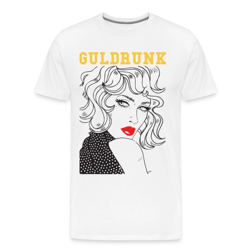 Official Guldrunk Shirt - Premium-T-shirt herr