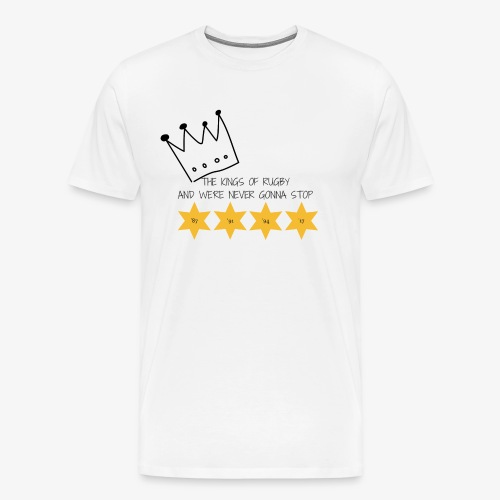 The Kings of Rugby - Men's Premium T-Shirt