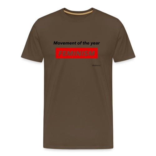 Feminism - Men's Premium T-Shirt