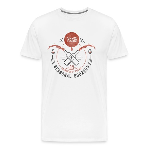 Ikebukuro SeasonalBoozers - Männer Premium T-Shirt