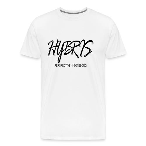 Vem e du ens png - Premium-T-shirt herr