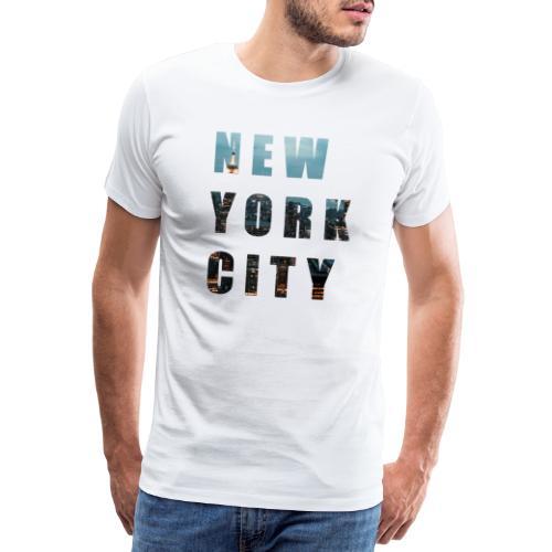 NEW YORK, New York photo, New York City - Men's Premium T-Shirt