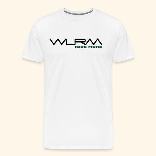WLRM Schriftzug black png - Männer Premium T-Shirt