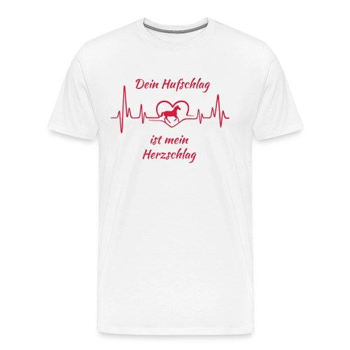 Vorschau: Dein Hufschlag - Männer Premium T-Shirt