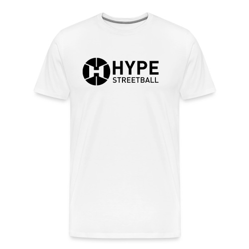 DC HYPE 001 Logo Official FINAL Black HORI - Men's Premium T-Shirt