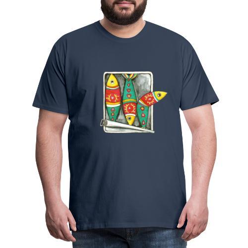 Les sardines du Portugal - T-shirt Premium Homme