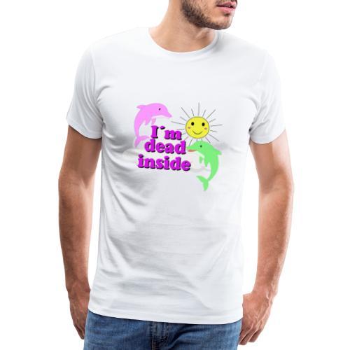 Ich bin bereits innen Tod Design - Männer Premium T-Shirt