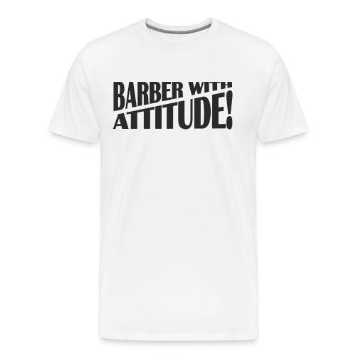 Barber T-Shirt logo 6 - Men's Premium T-Shirt