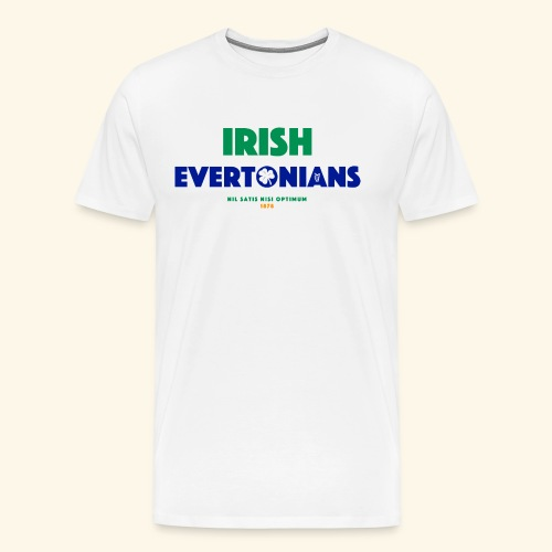 Irish Evertonians - Men's Premium T-Shirt