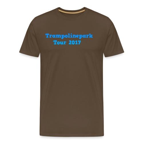 Trampolinepark Tour 2017 - Mannen Premium T-shirt