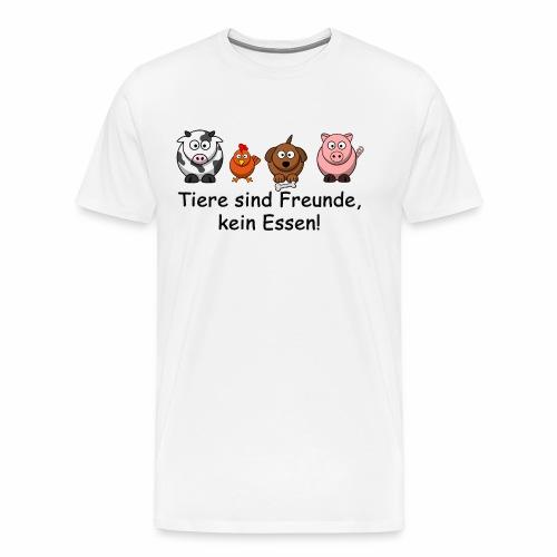 Tiere-sind-Freunde - Männer Premium T-Shirt
